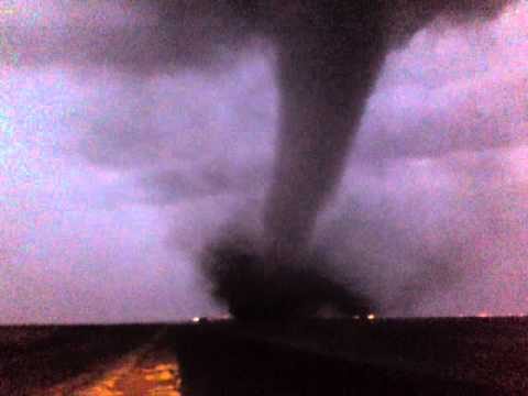 Tornado approaching Duduza, East Rand, South Africa
