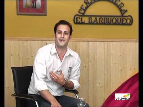 Entrevista a Rafa Garcel en El Redondel  (3 parte)  (Por José Daniel Rojo en Velevisa Tv)