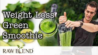 How to Make Weight Loss Green Smoothie Recipe in a Vitamix Blender by Raw Blend
