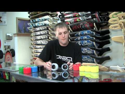 2010 Freeride/Round-Lipped Longboard Wheels - motionboardshop.com