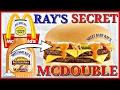 mcdonald's® | ray's secret mcdouble review | secret menu