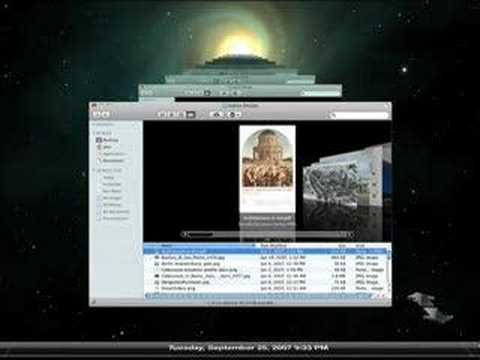 Time Machine - Mac OS X Leopard