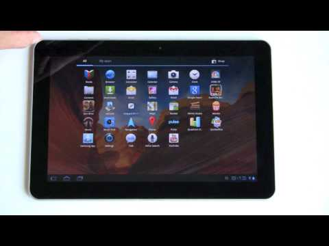 Samsung Galaxy Tab 10.1 Android Tablet Review