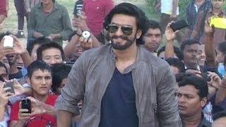 Ranveer Singh visits Lucknow for the promotion of 'Ram-leela'