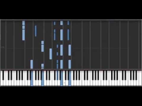 Lonely Lullaby by Owl City - Synthesia MIDI Piano Tutorial (Live Version)
