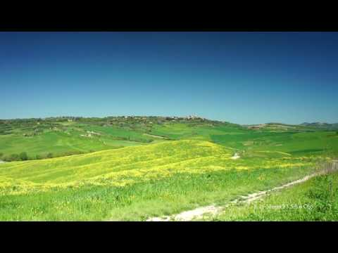 """α"" CLOCK Video ""Light & Wind"" captured with ""α"" NEX-5 Valdorcia, Italy - UNESCO World Heritage"