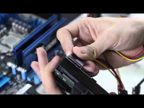 Lắp đặt các thành phần cơ bản của máy tính tự lắp ráp