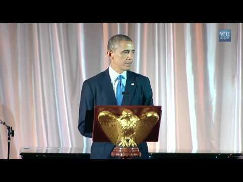 President (Obama) Speaks at the U.S.-Africa Leaders Summit Dinner