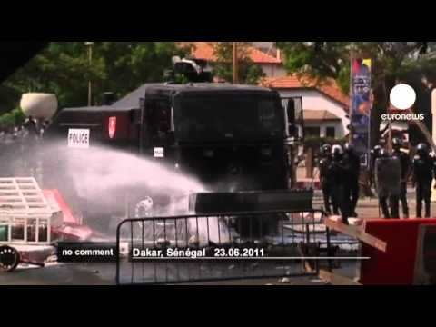 Riots in Senegal after controversial... - no comment