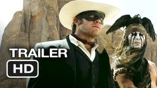 The Lone Ranger Official Trailer (2013) - Johnny Depp Movie HD