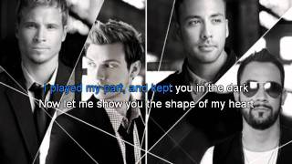 Shape of my heart - karaoke ( only beat )