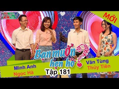 BẠN MUỐN HẸN HÒ – Tập 181 | Ngọc Hà – Minh Anh | Thủy Tiên – Văn Tùng | 03/07/2016