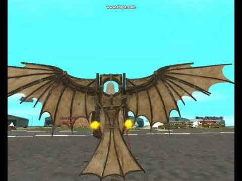 Ezio Auditore Skin   Macchina volante Di Leonardo Da Vinci in: GTA SAN ANDREAS
