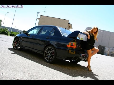 Fast Driving Girls - Bonnie Mitsubishi Lancer EVO VIII - TRAILER