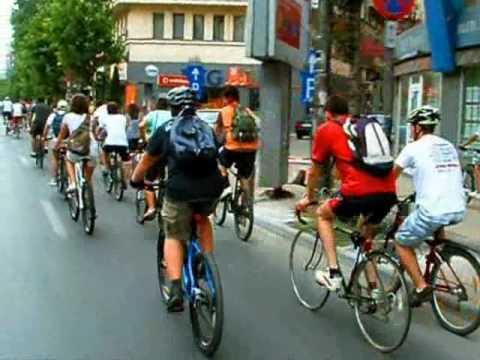 VIDEOCLIP BikeWalk Romania 31 iulie 2010 - Pentru ca suntem multi!