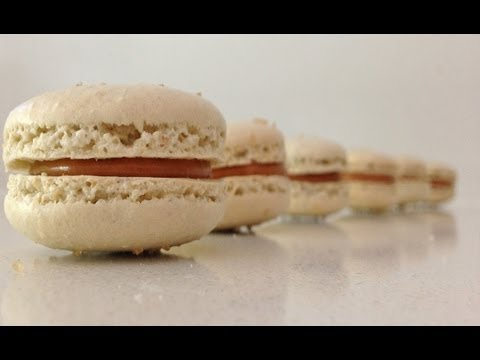 Salted Caramel Macaron Recipe HOW TO Cook That Ann Reardon