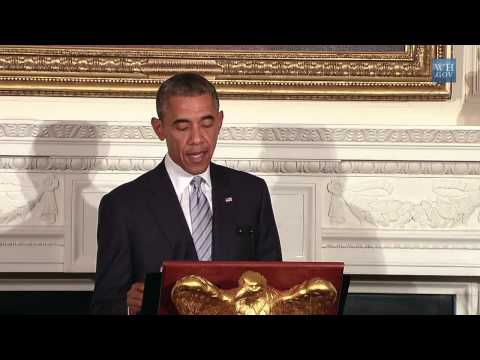 Obama Hosts an Iftar Dinner  7/15/14  (White House)