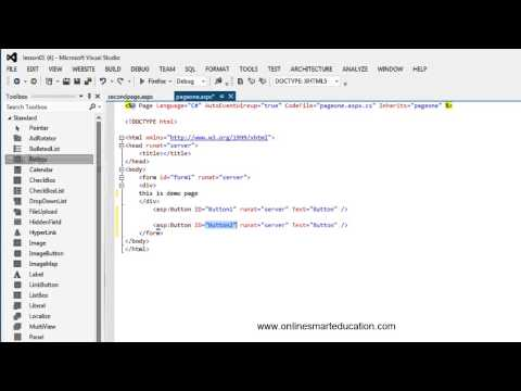 C# Tutorials in Tamil part-7 Create page and Tools