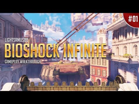 BioShock Infinite Gameplay Walkthrough Part 1 - To The Sky