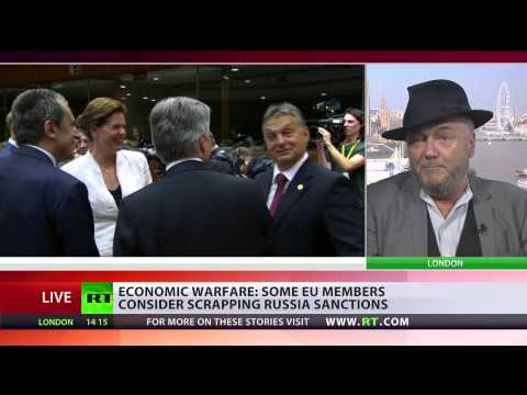 EU is locked in a crazy policy of aggression against  Russia   10/9/14    (Sanctions)