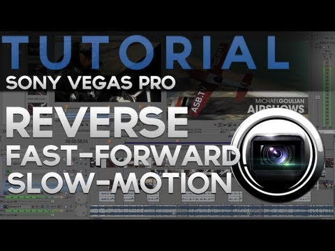 Tutoriale - Sony Vegas Tutorial - Invert, Slow-Motion, Fast-Forward, Split Effects