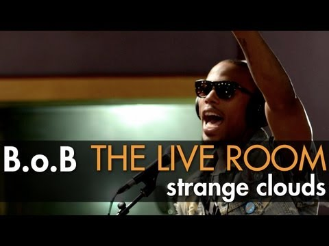 "B.o.B - ""Strange Clouds"" captured in The Live Room"