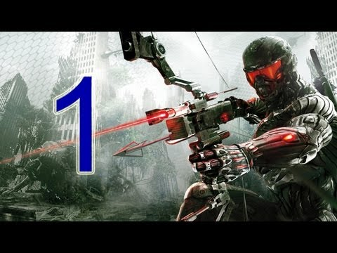 Crysis 3 Walkthrough - part 1 let's play gameplay HD PS3 XBOX PC