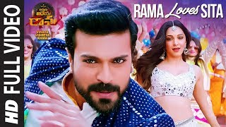 Rama Loves Seeta Full Video Song | Vinaya Vidheya Rama