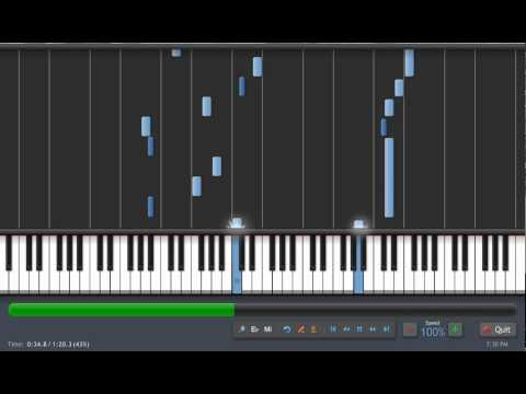 Sailor Moon-Moon Revenge Piano tutorial