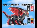 Dragon City - Hellgate Dragon (4 Elements PURE!)