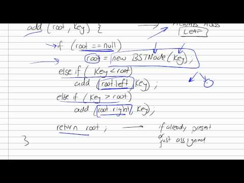 Binary Search Tree Part 3/5