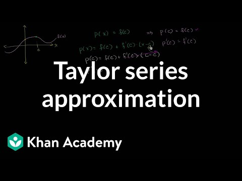 Generalized Taylor Series Approximation
