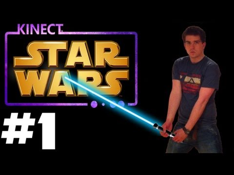 Kinect Star Wars - Walkthrough [HD] - Part 1 (Jedi Destiny: Dark Side Rising)