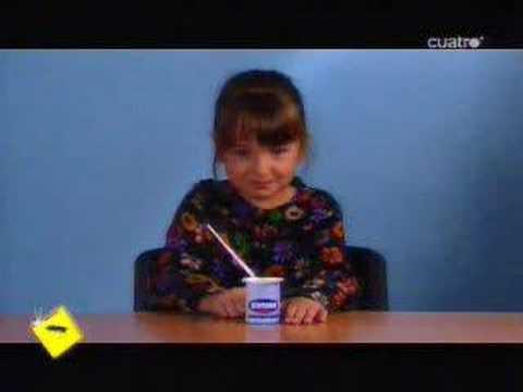El Hormiguero - 03/04/08 - Yogures Glotone - Niñas