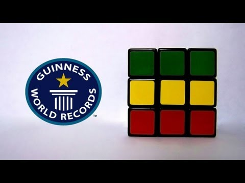 3x3 Rubik's Cube World Record - 5.66 seconds - Feliks Zemdegs