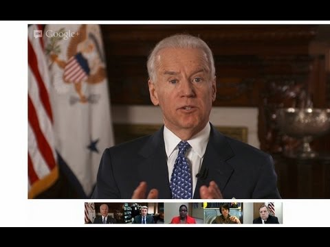 White House Hangout: Vice President Biden and Mayors on Reducing Gun Violence