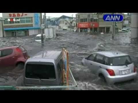 Upcoming water in Miyagi (Japan 2011)