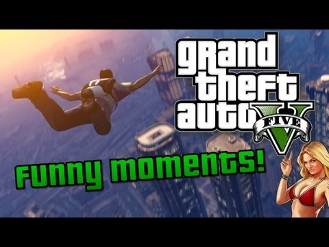 GTA V: Funny Moments! Cheats, Fails, Dog Sex & Selfies (GTA 5 Gameplay)