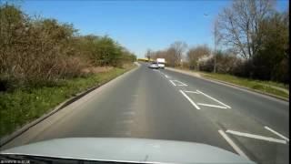 crazy trailer overtake