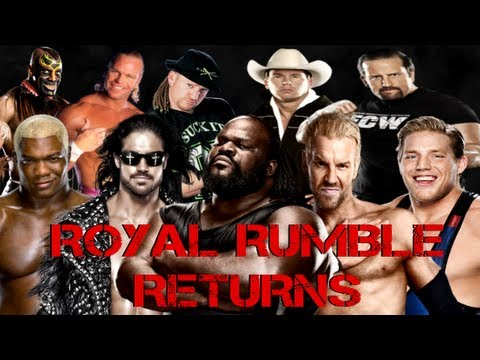 A Look at the Possible WWE Royal Rumble 2013 Returns!