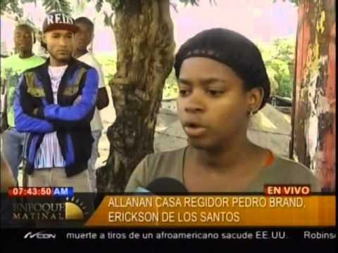 Allanan casa regidor Pedro Brand, Erickson de…