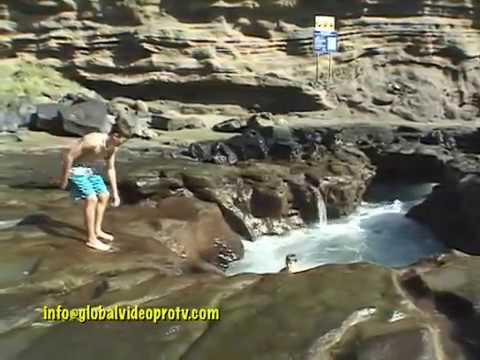 DANGEROUS TOILET BOWL POOL, HAWAII