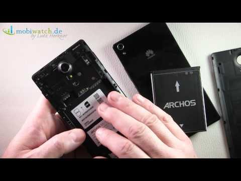 Archos 50c Oxygen vs. Huawei Ascend P7 - Lutz Herkners Video-Blog   deutsch / german