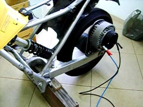 Electric motorcycle conversion - Americana - S.P. - Brazil