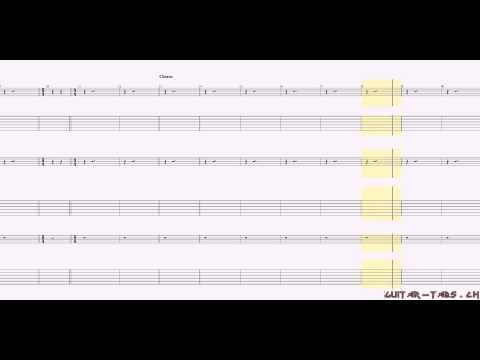 Guns N`Roses Tabs - Paradise City (lead)