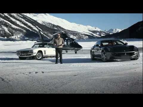 Ferrari FF vs. Jensen FF - Fast Forward to St. Moritz