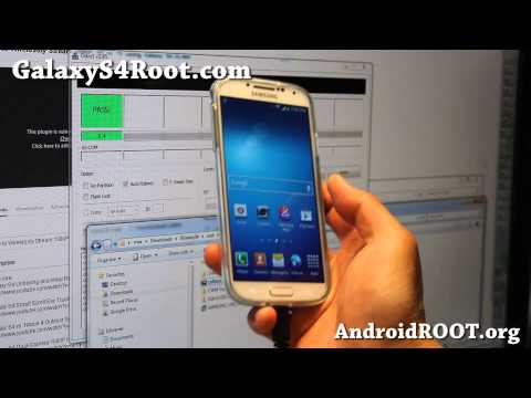 How to Root Galaxy S4 using CWM Method!