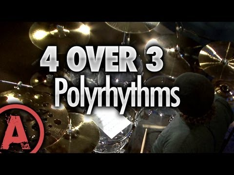 4 Over 3 Polyrhythm - Advanced Drum Lessons