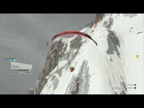 Steep|GoPro Sky|The Peak Paragliding Challenge