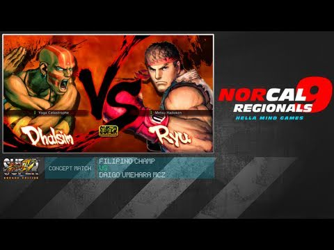 NCR9: Filipino Champ (DH) vs Daigo Umehara MCZ (RY/YUN)  Concept Match